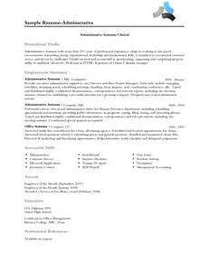 Exle Of Profile In Resume by The Resume Professional Profile Exles Recentresumes