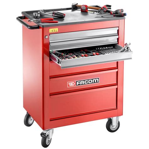 Roller Cabinets by Facom Roll 6xl 6 Drawer Classic Roller Cabinet
