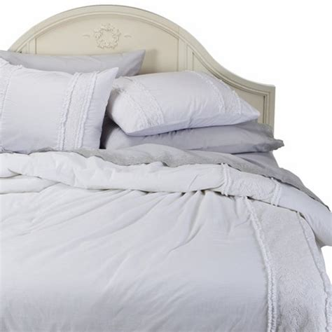 simply shabby chic 174 pieced lace mesh duvet set target
