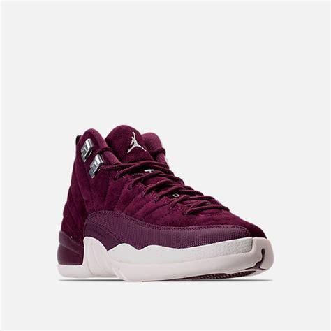 finish line youth basketball shoes boys grade school air retro 12 basketball shoes