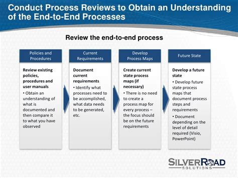 tips and pointers for conducting process improvement