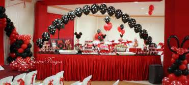 Creative Buffet Table Ideas Creative Buffet Table Ideas Minnie Mouse 1st Birthday