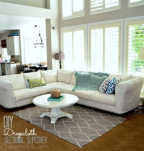 best 25 sectional slipcover ideas on