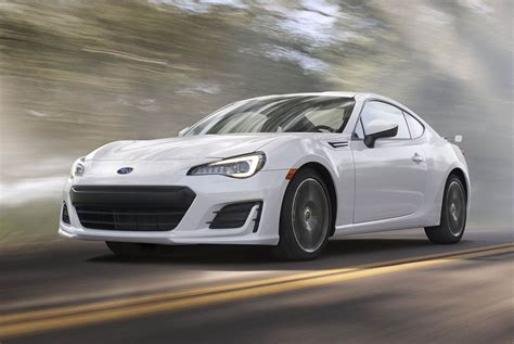 2017 subaru brz revealed more power updated design