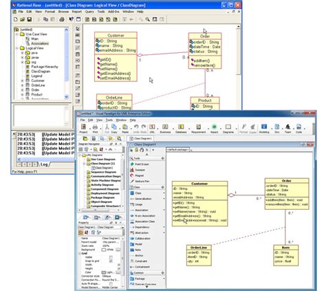 membuat uml dengan rational rose rational rose interoperability uml modeling tool
