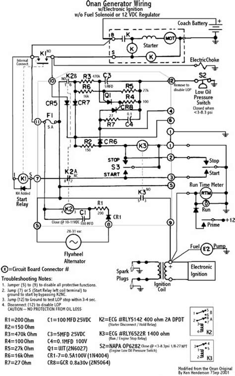 onan wiring circuit diagram 28 images onan rv