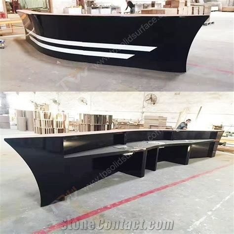 boat table tops for sale black color boat shape wooden bar counter with artificial