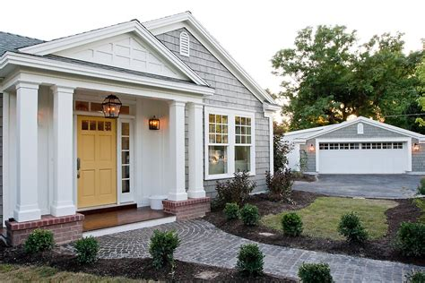 Front Door Color For Yellow Brick House