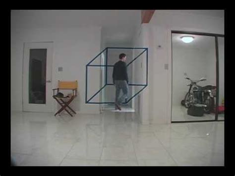 How To Draw A 3d Room crazy cube illusion youtube