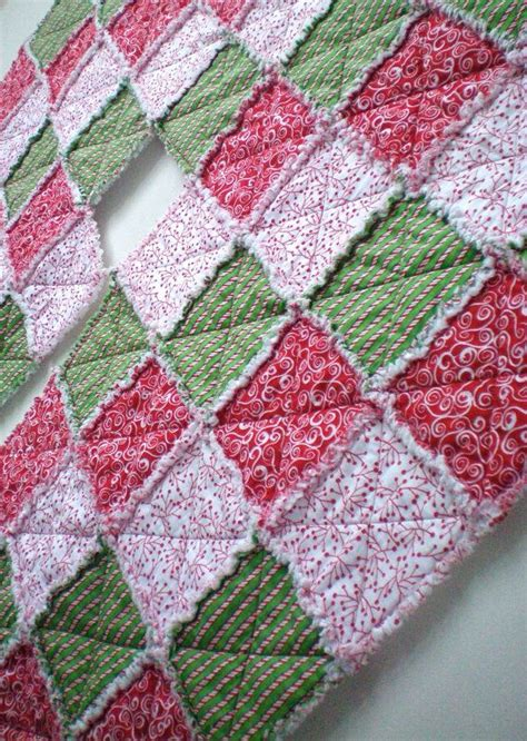 Rag Quilt Tree Skirt Pattern by Quilted Tree Skirt Tree Skirt Rag By