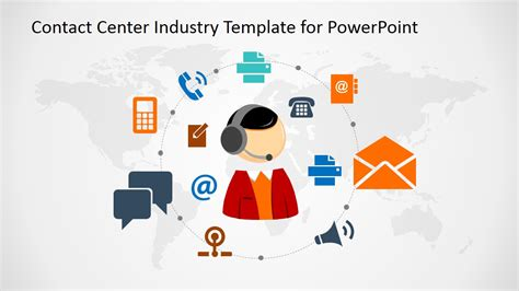 powerpoint template for communication is key powerpoint presentation slidemodel