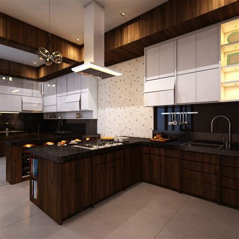casa kayu manis 20 model desain dapur minimalis manis dan berbeda