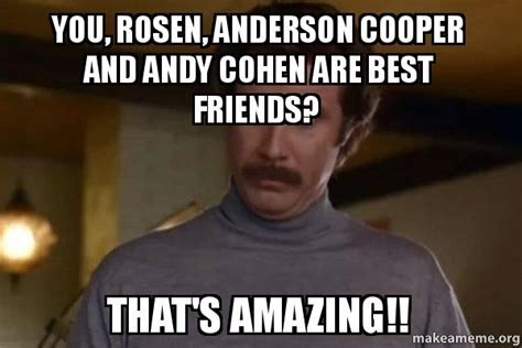 Anderson Cooper Meme - andy cohen and anderson cooper memes