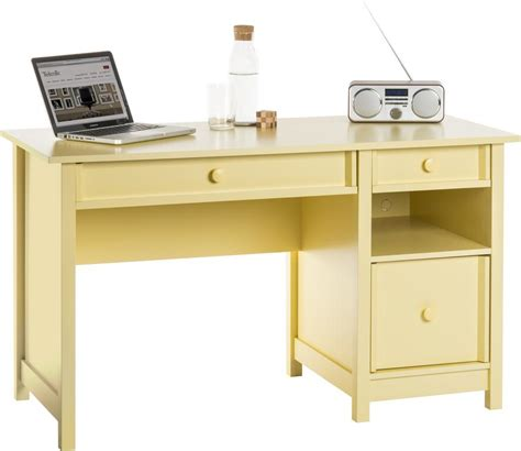 Yellow Computer Desk by Teknik Office Computer Desk Sherbet Yellow