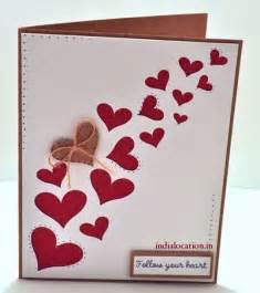 easy handmade s day card happy s day 2015 handmade cards designs india
