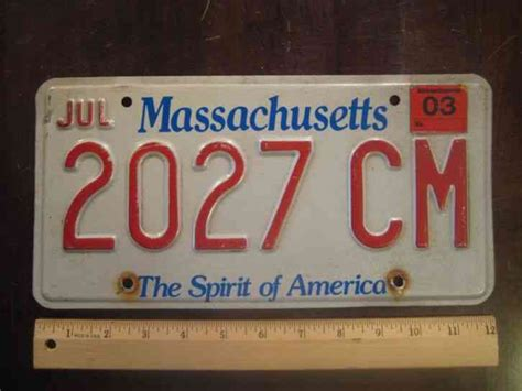 Mass Rmv Vanity Plate Availability by 1948 Massachusetts Car License Plate Original Paint
