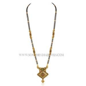Designs With Price Gold Mangalsutra South India Jewels