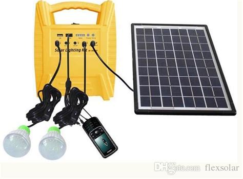 small home system 10w portable grid small solar power system for home