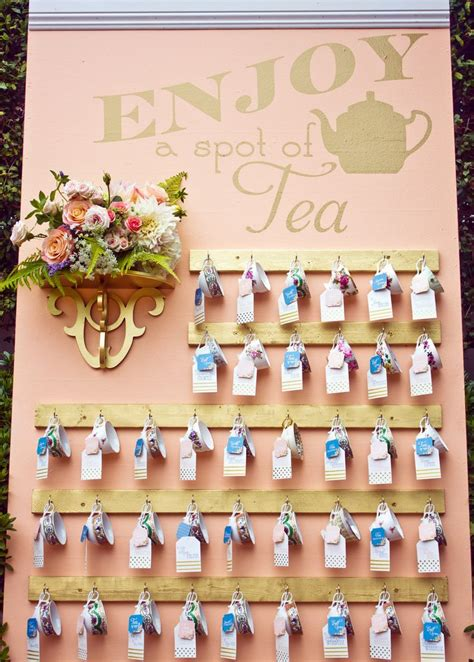 how to make event escort cards three variations kin diy best 25 tea party centerpieces ideas on pinterest