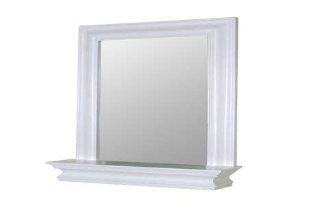 white bathroom mirror with shelf bathroom ideas categories ceiling fans for small