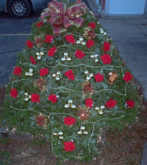 christmas tree blanket cemetery pinterest