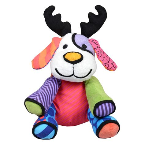 mini christmas musical britto pop plush toy