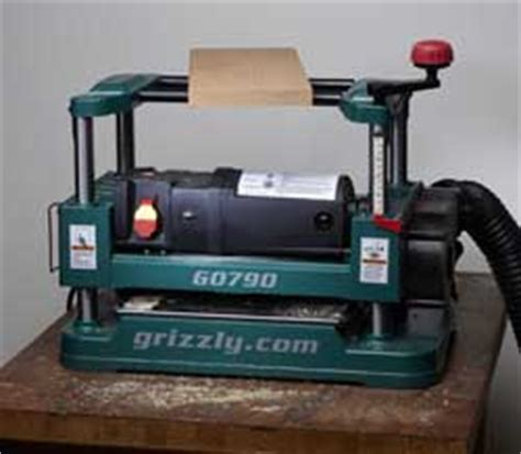 bench planer reviews grizzly 12 1 2 quot benchtop planer popular woodworking magazine