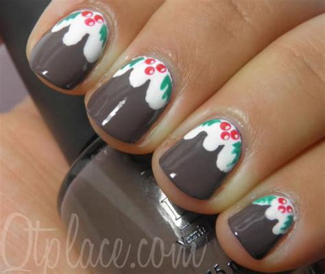 christmas decorated finger nails 25 cool nail designs hative