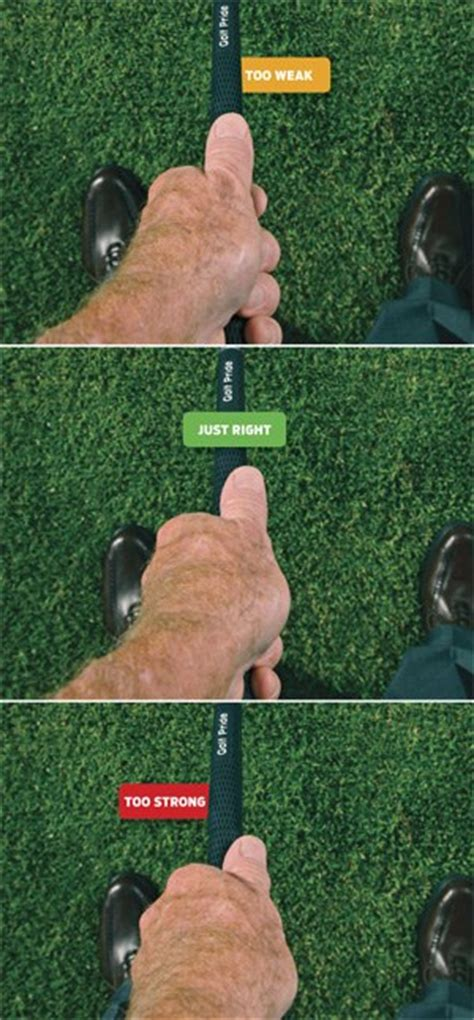 strong golf grip swing tom watson always check your grip golf digest