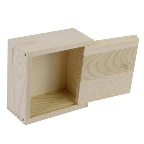 Small Storge Box small plain wooden storage box for jewellery small