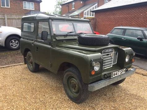 mod land rovers for sale land rover 88 quot 1984 ex mod for sale on car and classic uk
