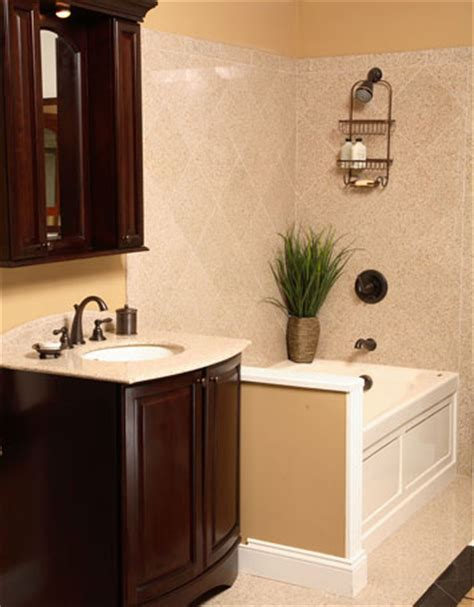 Remodeling small bathrooms are often unncessary it is better to make