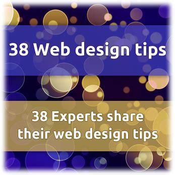 design expert basics 38 web design tips for 2015 revealed by 38 website design