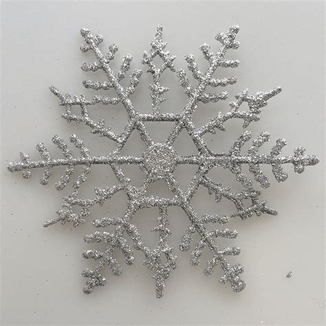 silver snowflake ornaments at hooked on hallmark ornaments