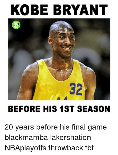 Kobe Memes - kobe bryant before his 1st season 20 years before his