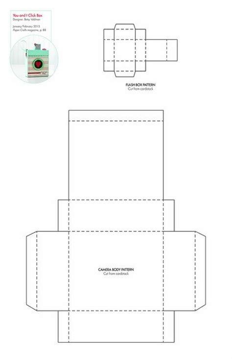 box pattern pinterest you i click box free pattern template downloadable