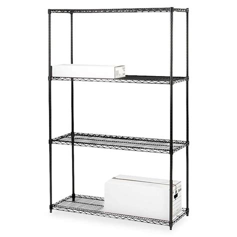 add on industrial wire shelving