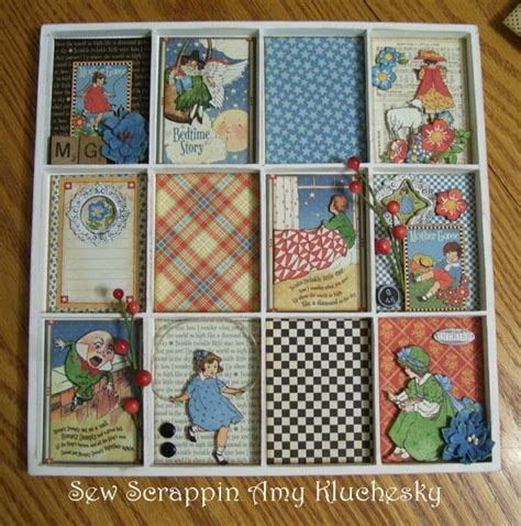 scrapbook layout easel 39 best images about graphic 45 mother goose on pinterest