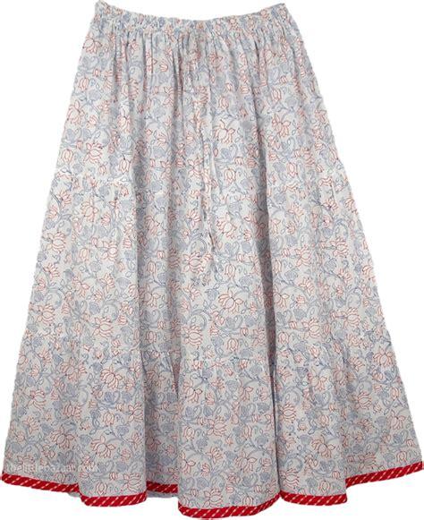 Sn 4134 Blousr Bordir Big venus grey s cotton skirt printed
