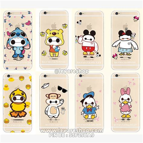 Casing Hp Lucu Karakter Imut Iphone 66s jual soft iphone 5 5s casing baymax karakter lucu levare shop