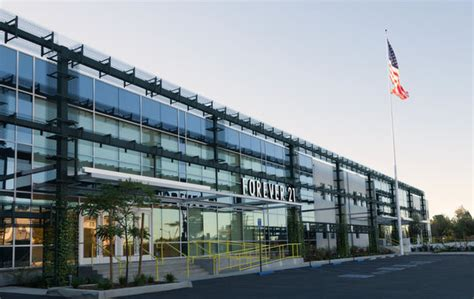 new forever 21 headquarters brings flash and fashion to