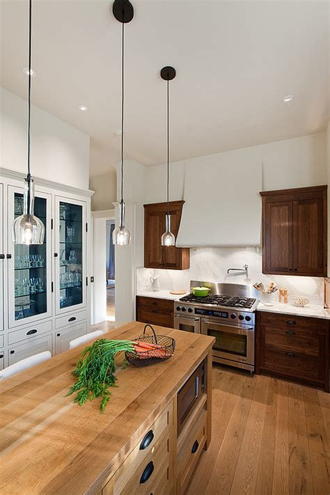 Small Pendant Lights For Kitchen Creative Ways To Use Color In Your Dull Kitchen