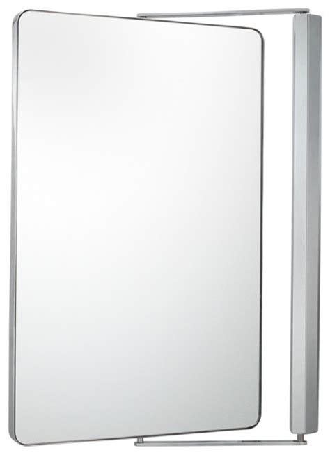 pivot bathroom mirrors metro pivot mirror with 1x and 1x magnification chrome