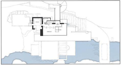 frank lloyd wright floor plan frank lloyd wright s masterpiece fallingwater