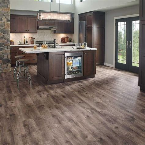 kitchen laminate flooring ideas pergo xp southern grey oak 10 mm thick x 6 1 8 in wide x