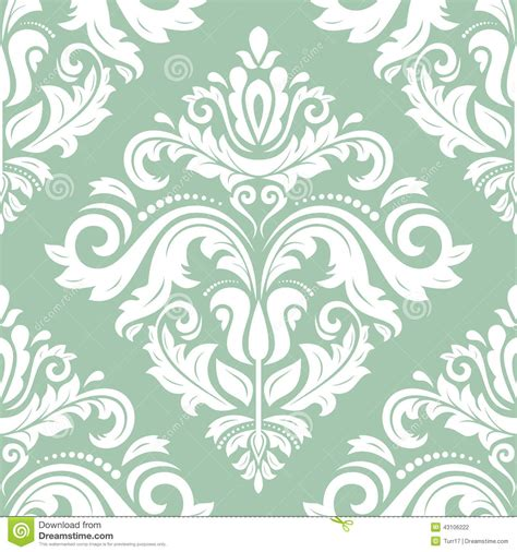 classic pattern background vector damask vector classic pattern seamless vintage background