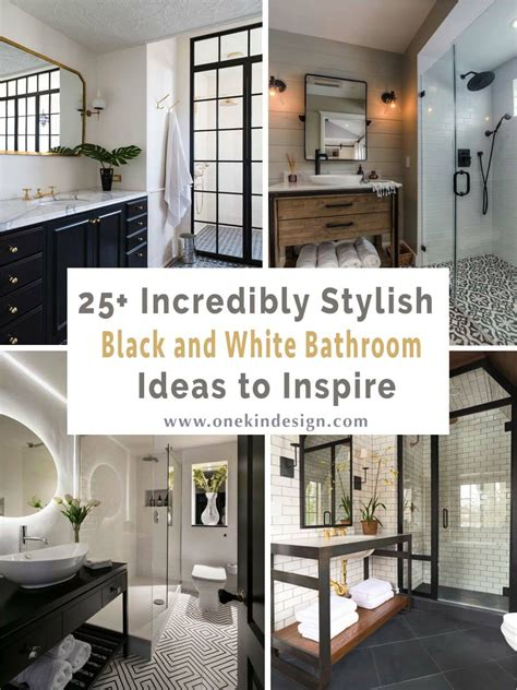 black bathroom ideas 2018 25 incredibly stylish black and white bathroom ideas to inspire