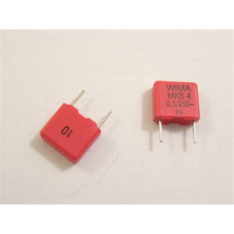kapasitor 100nf 250v 100nf 250v mks4 kondensator ledmar części elektroniczne ledworowska