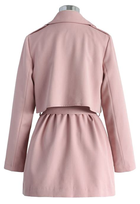 Timeless Trench Coats by The Best Of Timeless Trench Coat In Pink Retro