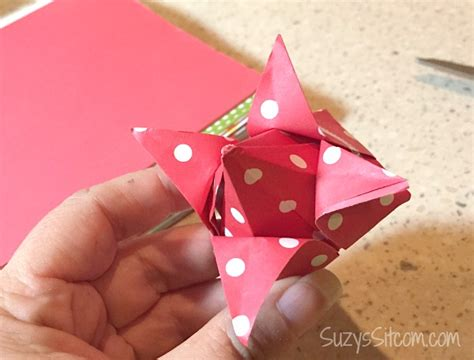 Origami Box Flower - origami flowers and boxes